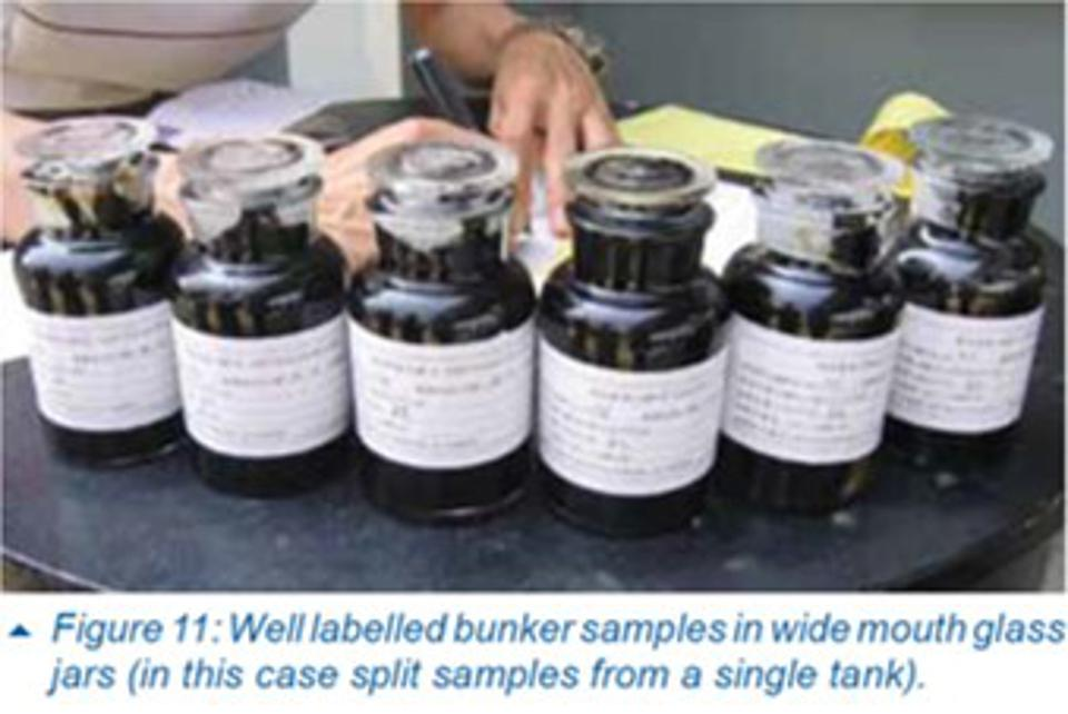 The ITOPF technical paper even goes down to the specific details of what sort of jar (glass  with wide mouth) is needed for sampling.