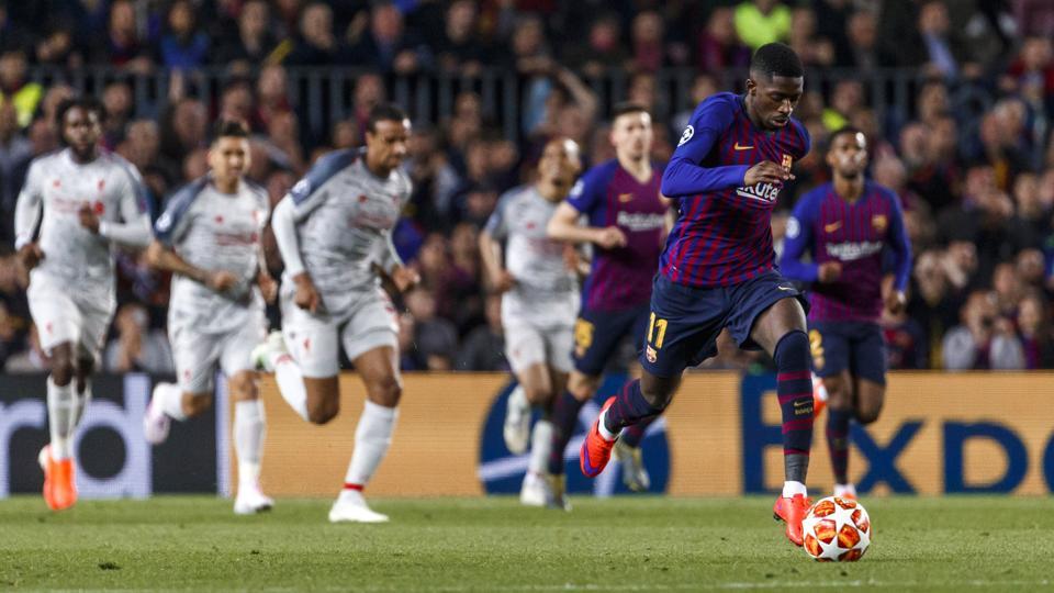 Jurgen Klopp has requested Barcelona star Ousmane Debmele on loan.
