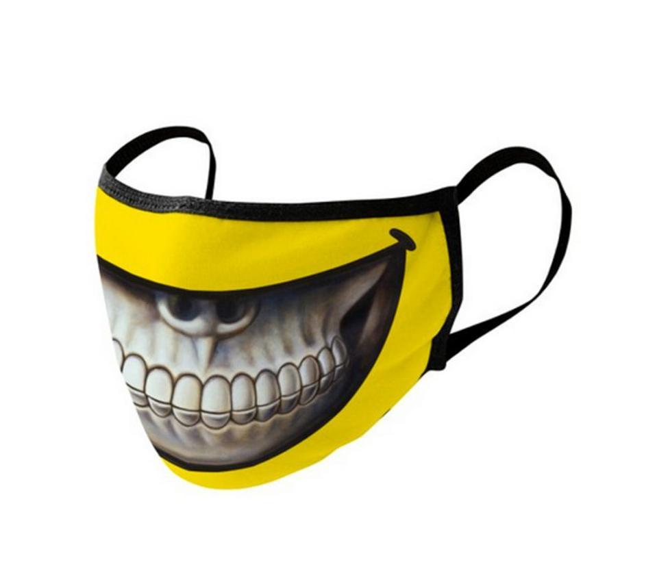 smiling skull mask
