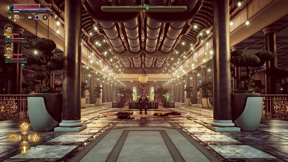 Peril on Gorgon DLC with robot PAM