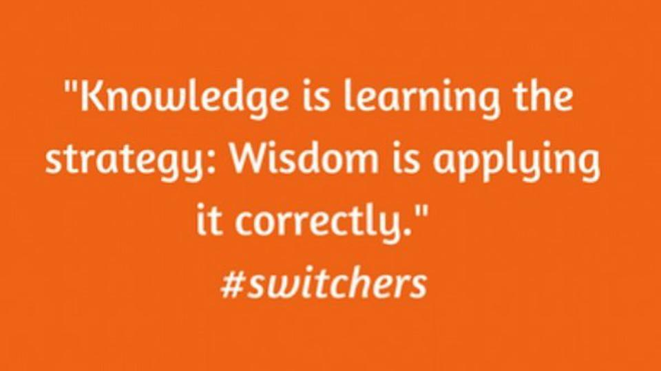 Quote from Switchers