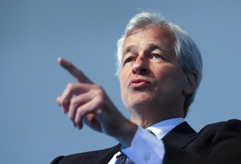 JPMorgan Chase & Co. Chief Executive Officer Jamie Dimon Speaks At Chicago Executives Club