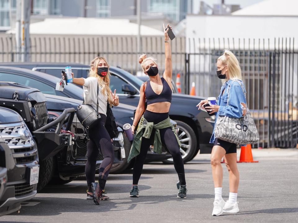 Celebrity Sightings In Los Angeles - September 17, 2020