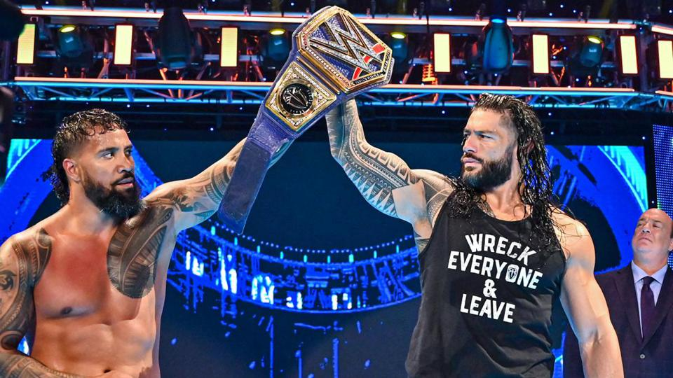 Roman Reigns and Jey Uso were advertised for a Samoan Street Fight against Sheamus and Baron Corbin on WWE SmackDown.