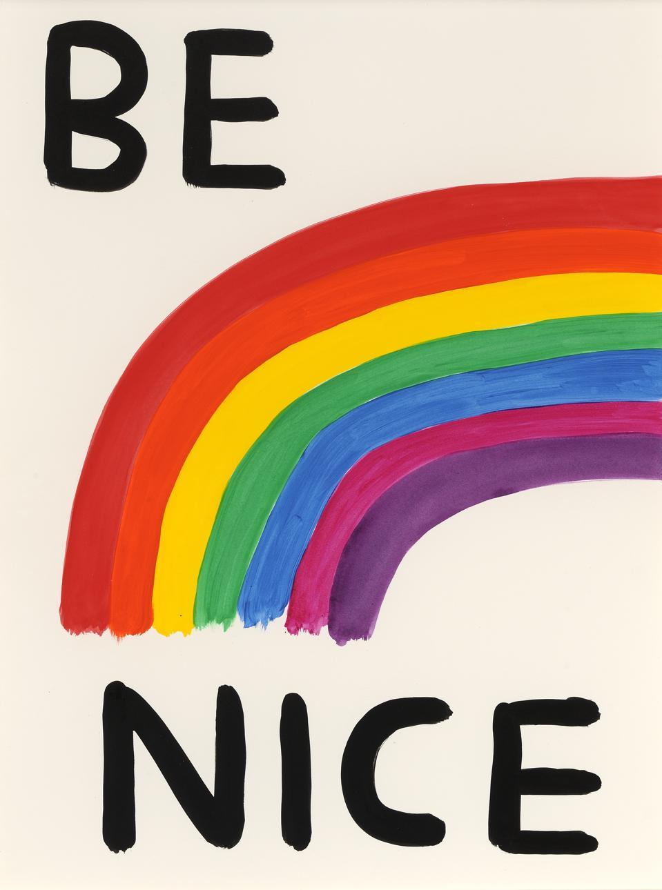 Be Nice by David Shrigley