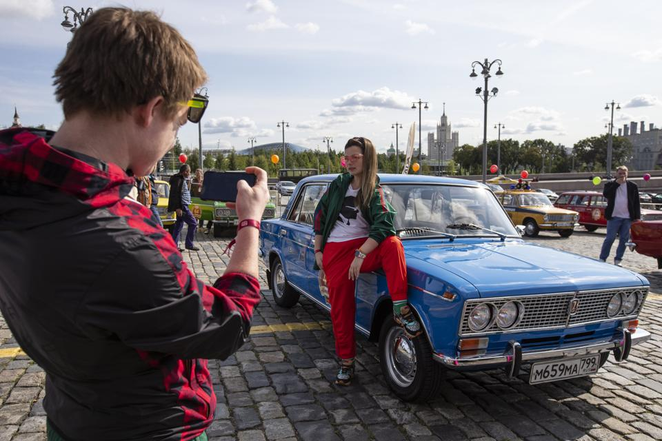 (SP)RUSSIA-MOSCOW-LADA RALLY