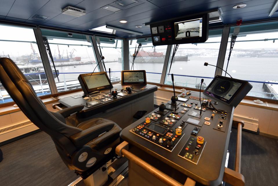 Ob icebreaker arrives at Murmansk Marine Station
