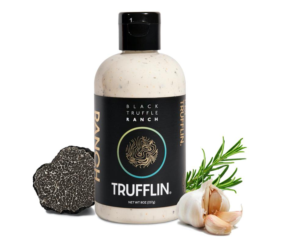 black truffle ranch Trufflin dressing sauce dip sriracha
