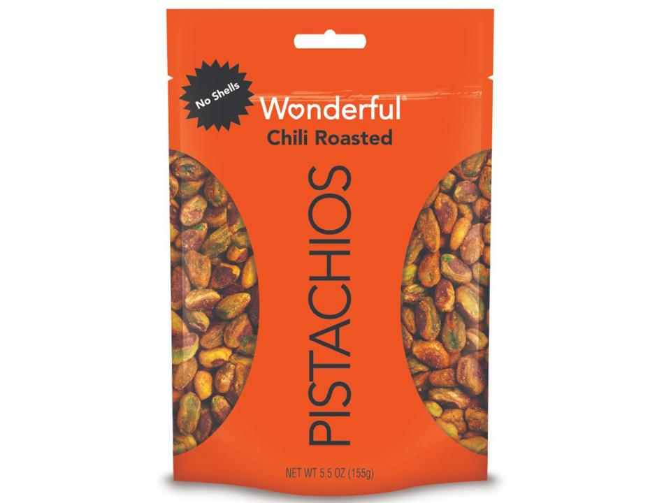 Wonderful No Shell Pistachios Chili Roasted