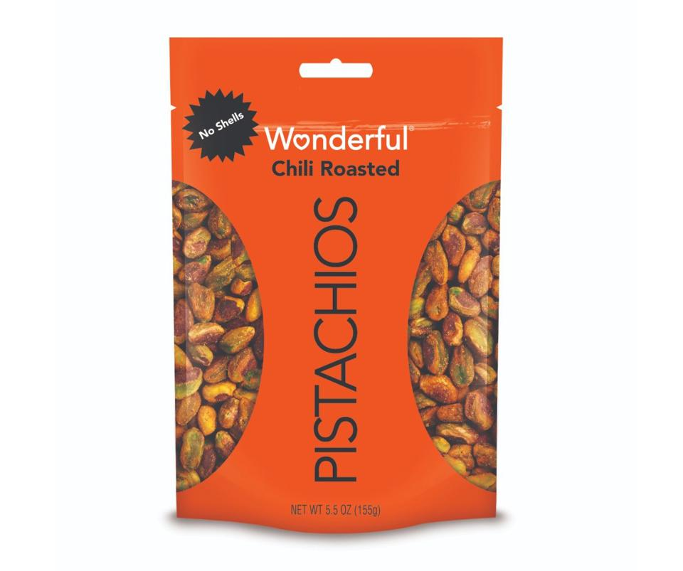 Wonderful No Shell Pistachios Chili Roasted