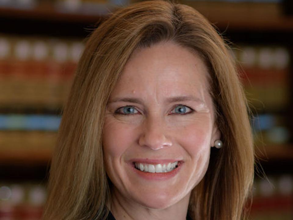 U.S. Seventh Circuit Court of Appeals Judge Amy Coney Barrett.