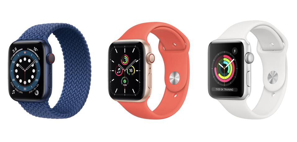 Apple Watch SE Vs. Series 6 Vs. Series 3: Key Comparisons