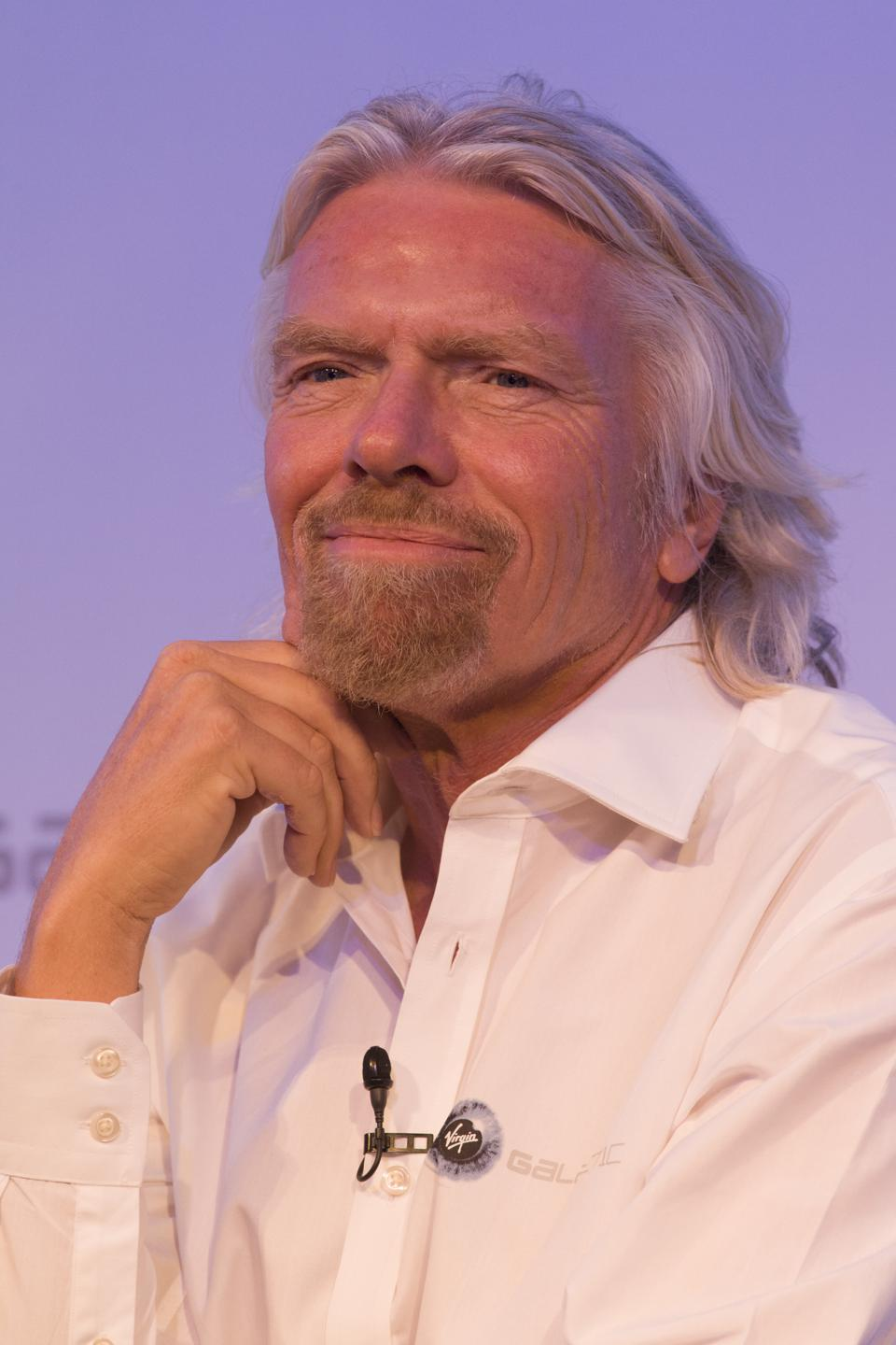 UK - Farnborough - Sir Richard Branson