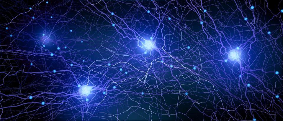 Neural network, illustration