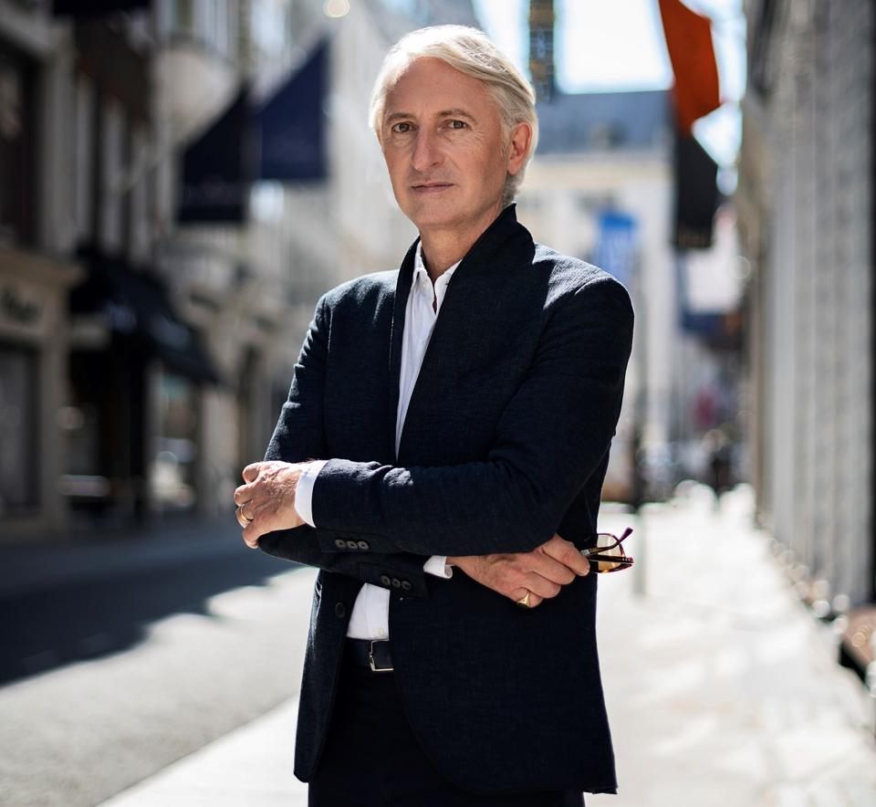 David Warren, the new CEO of the Moussaieff high jewelry house