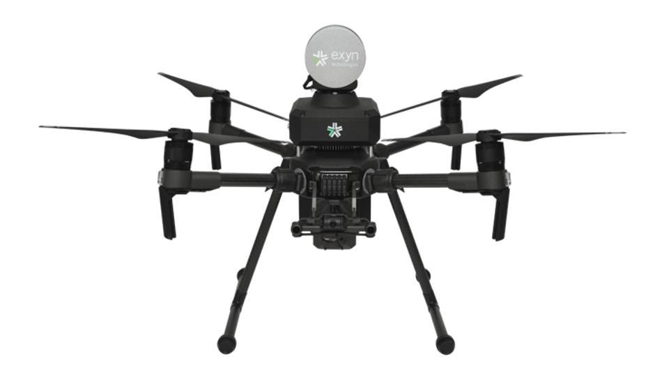 Exyn Technologies' autonomous self-flying drone.