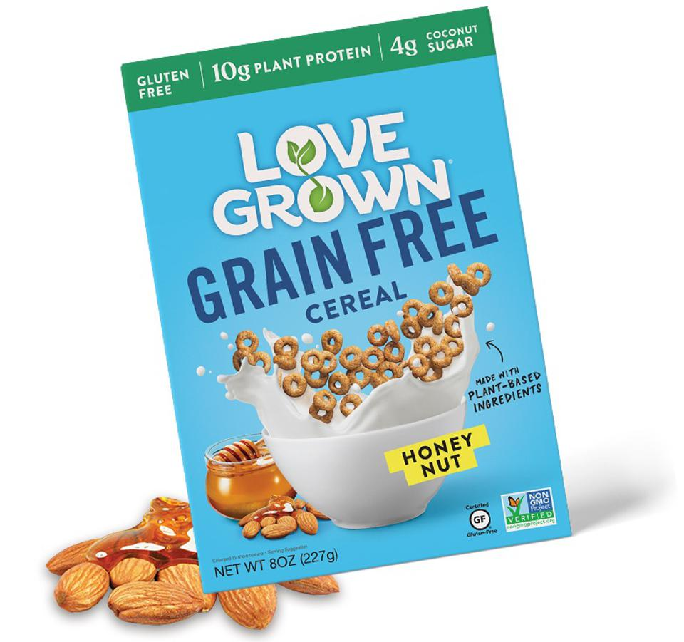 LOVE GROWN Honey Nut Grain Free - LOVE GROWN
