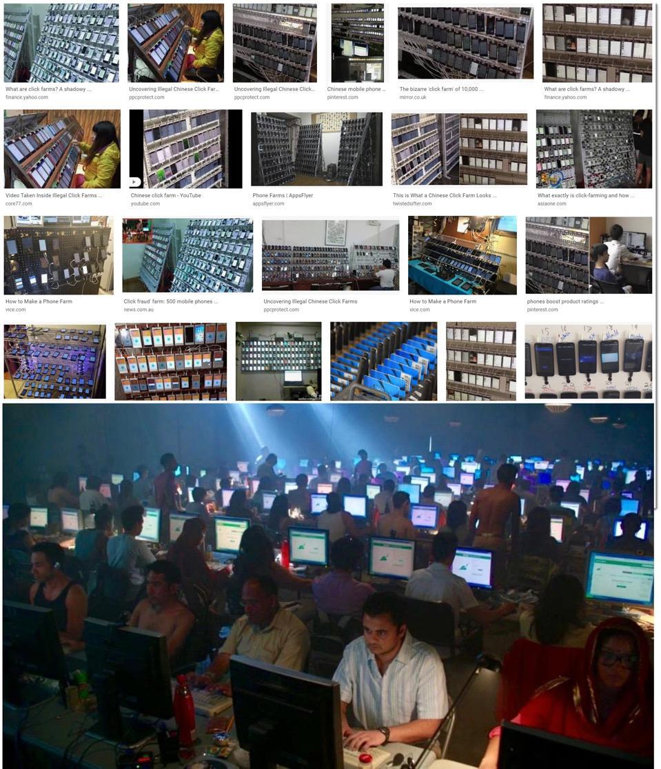 Google Image Search - ″phone farms″