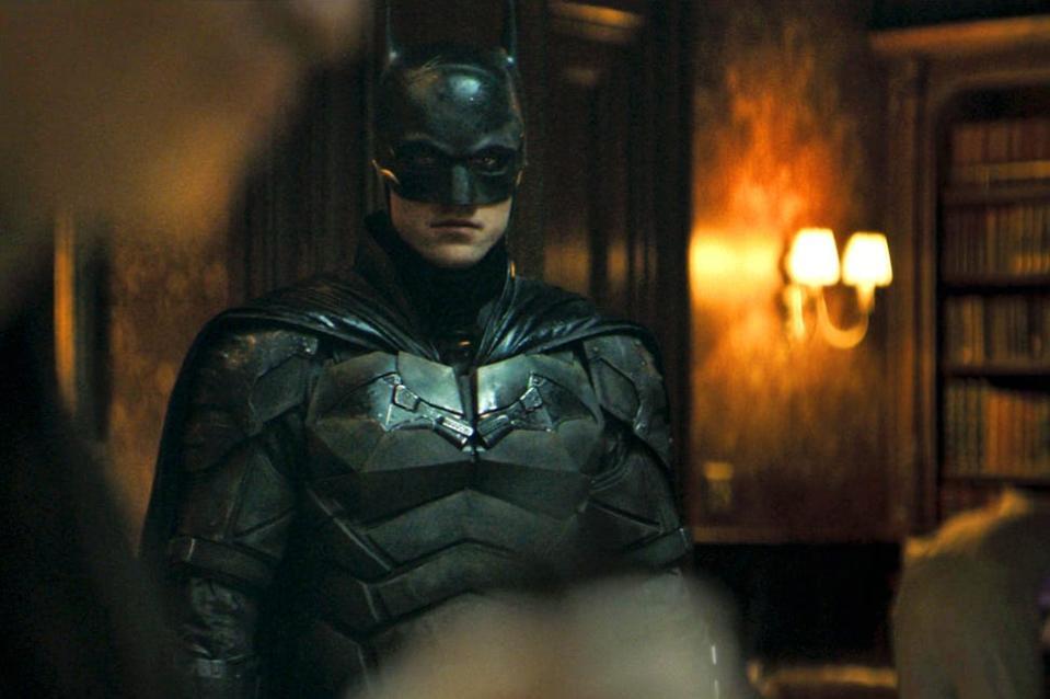 Robert Pattinson as Batman in Matt Reeves' 'The Batman'