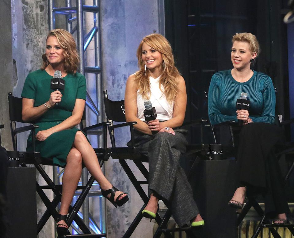 AOL Build Speakers Series - Candace Cameron Bure, Jodie Sweetin, Andrea Barber and Jeff Franklin, ″Fuller House″
