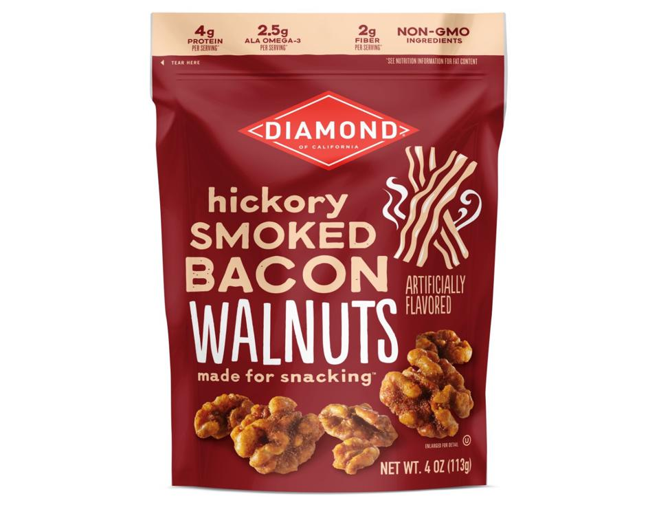 Diamond of California Hickory Smoked Bacon Walnuts