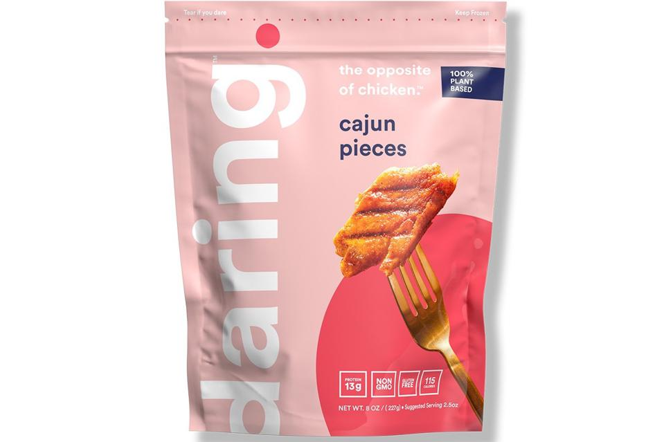 Cajun Seasoned Plant-Based Chicken Pieces | Daring Foods