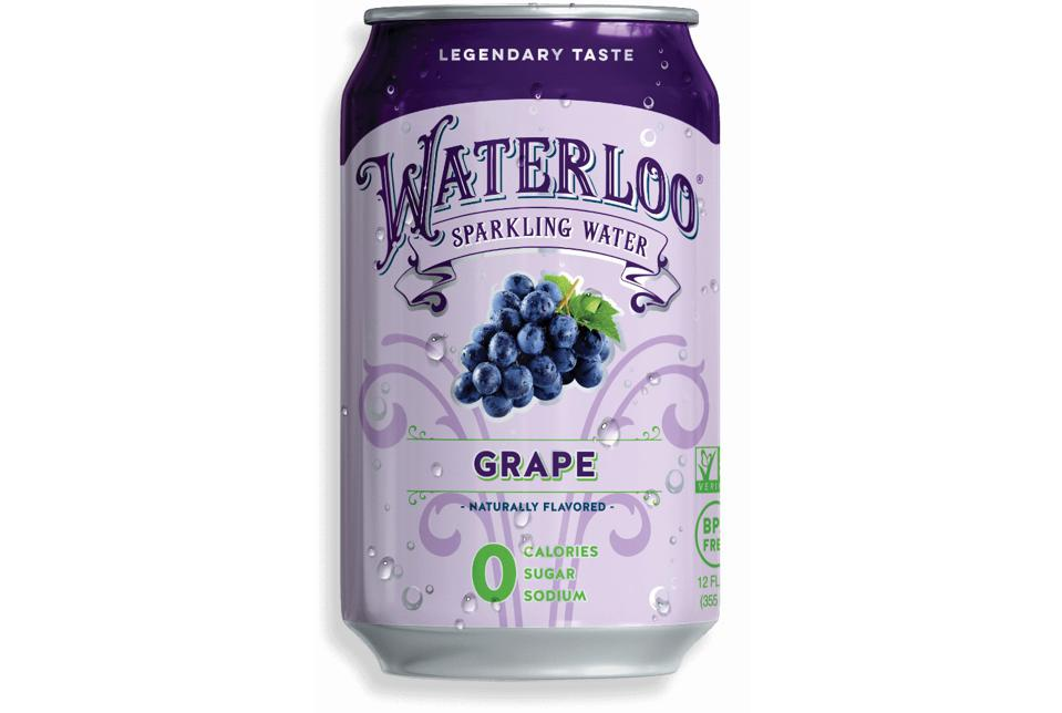 Waterloo Grape Sparkling Water