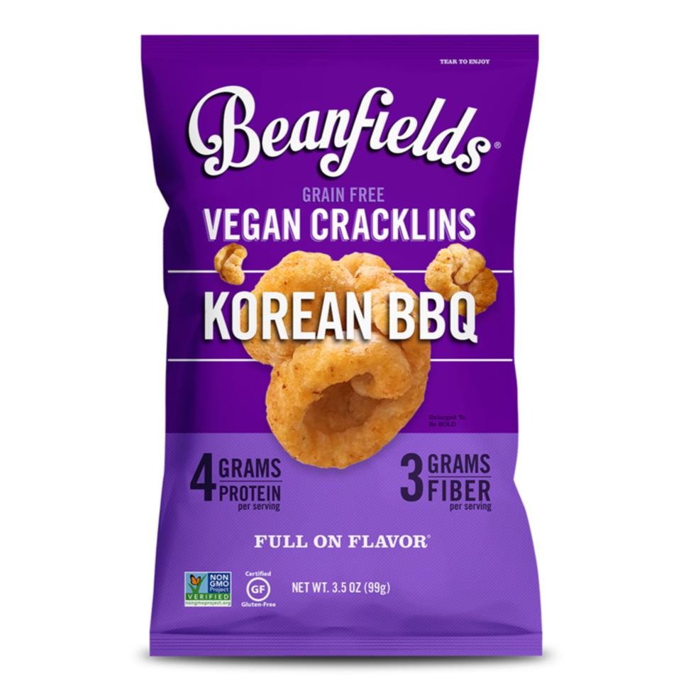 Korean BBQ Vegan Cracklins – Beanfields Snacks