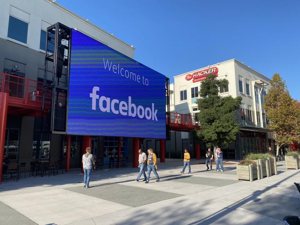 Facebook campus in Meno Park