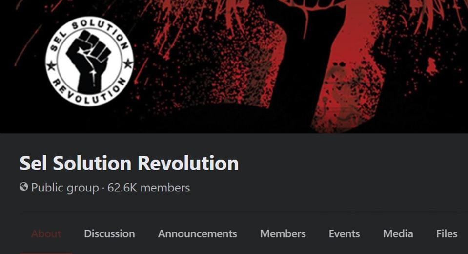 The largest protest group, whose initials SSR are the same as the founder of Mauritius, has over 60,000 members.
