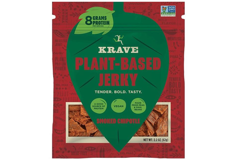 KRAVE VEGAN PLANT-BASED JERKY - SMOKED CHIPOTLE