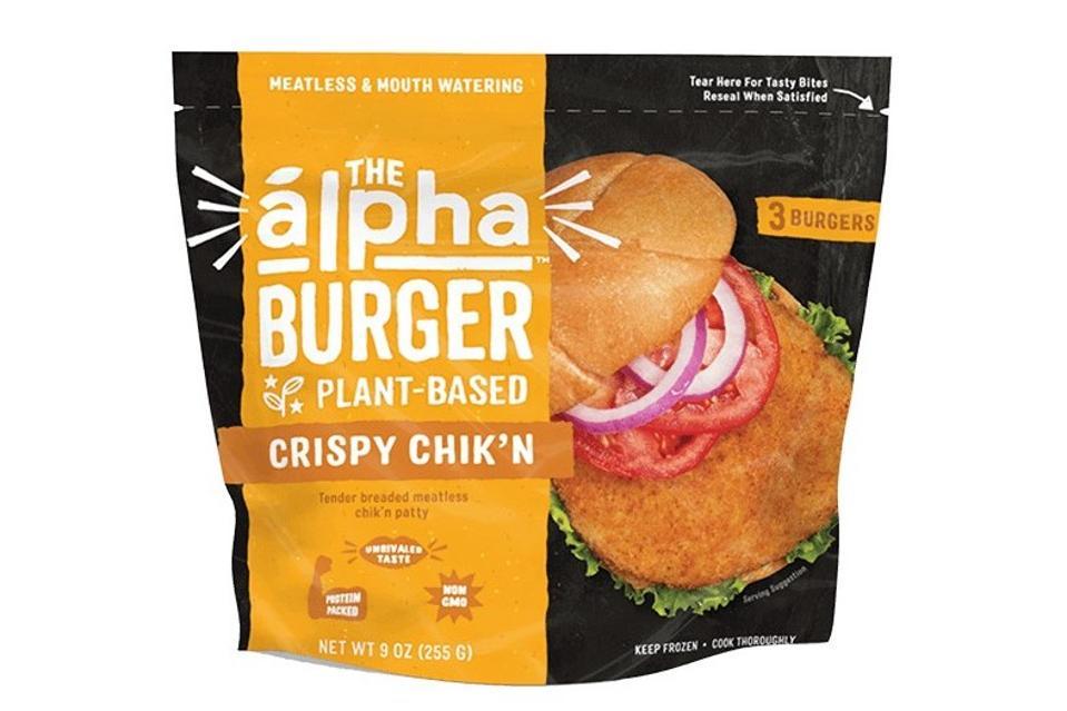 Crispy Chik'n Burger | Alpha Foods Plant-Based