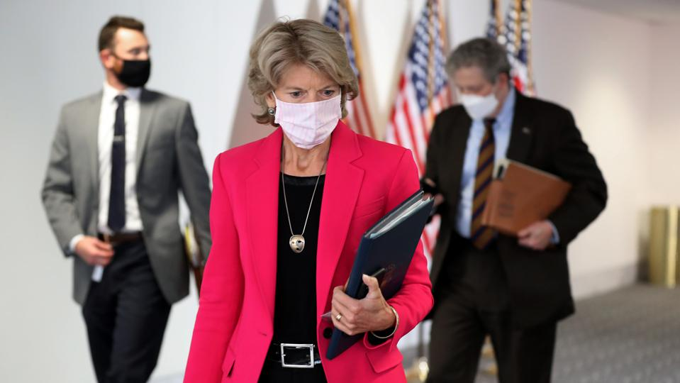 Senate Republicans Hold Closed Luncheon