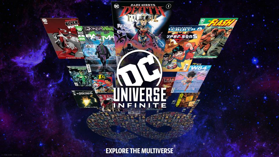 DC Infinite Universe logo 2020