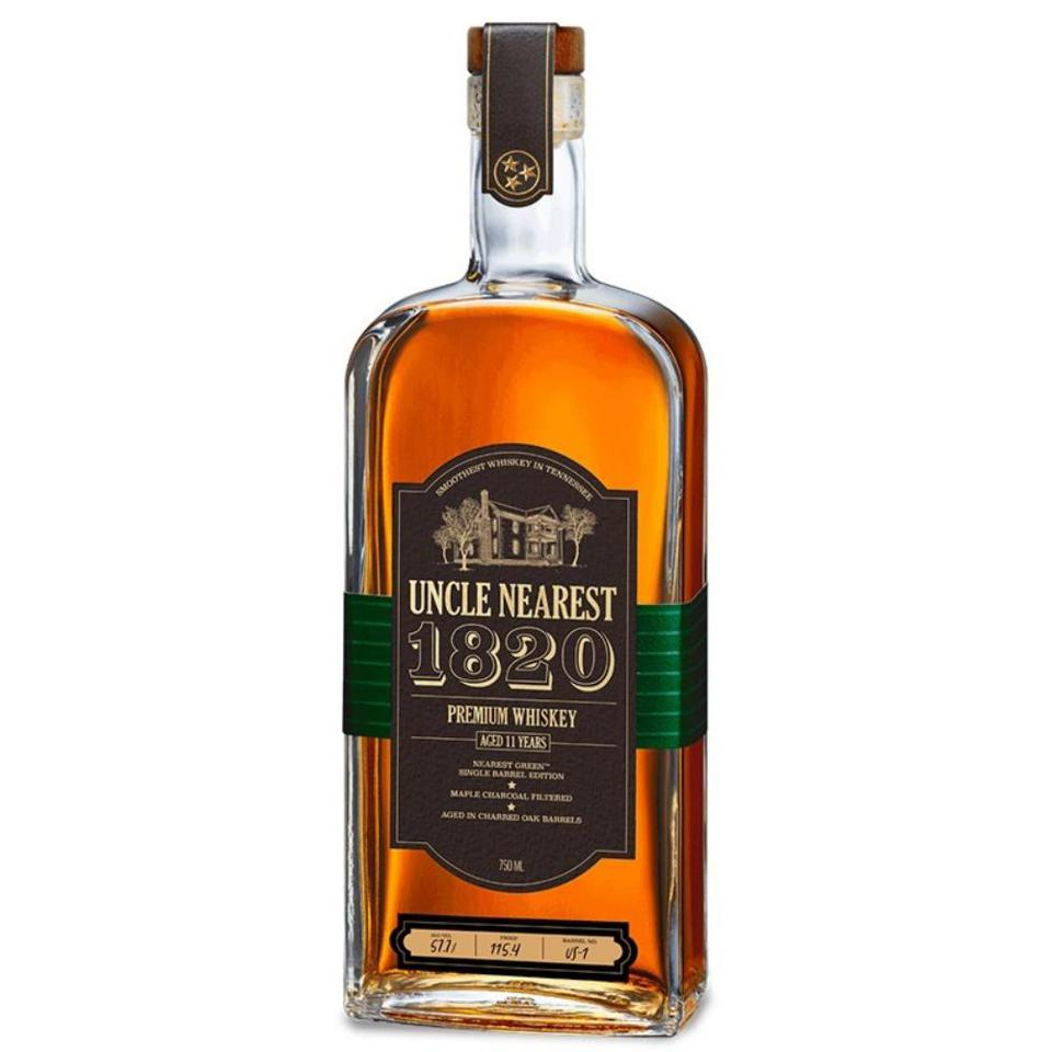 Uncle Nearest Premium Whiskey, 1820 Single Barrel Whiskey,