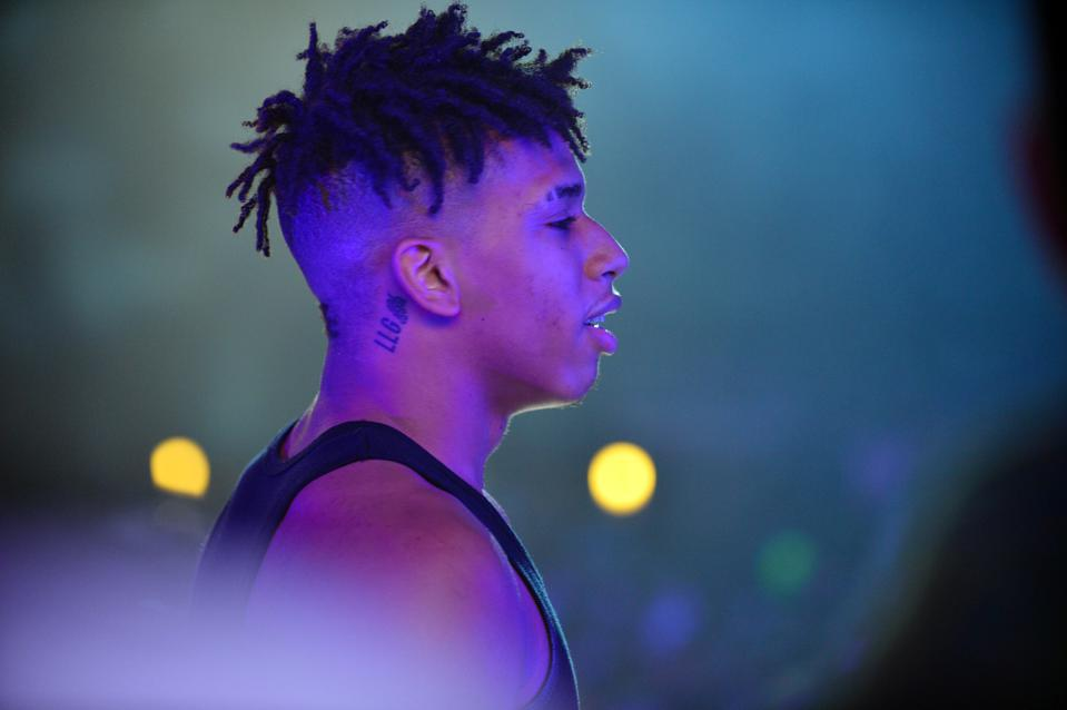 NLE Choppa performs in Florida.