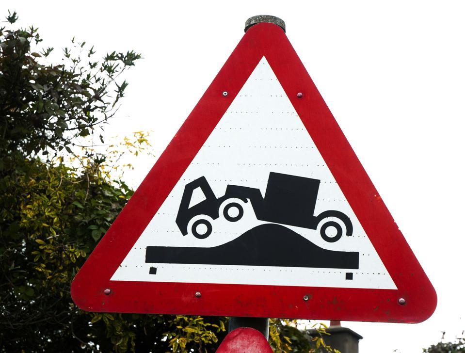 Warning!  Bumps ahead!