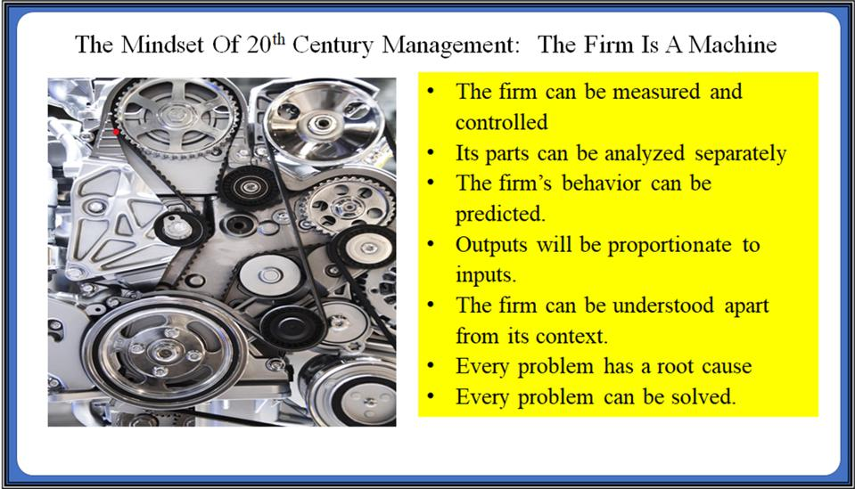 The firm as a machine