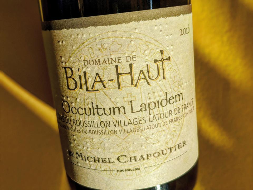 2016 Domaine de Bila-Haut, 'Occultum Lapidem Rouge', Côtes du Roussillon Villages Latour de France