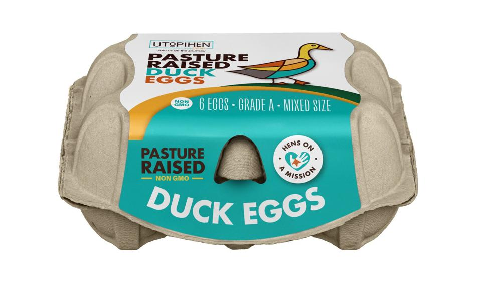 Utopihen Farms Pasture-Raised Duck Eggs