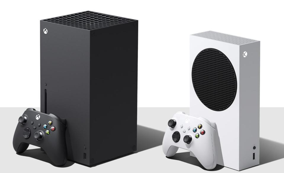 Xbox Series S and X.