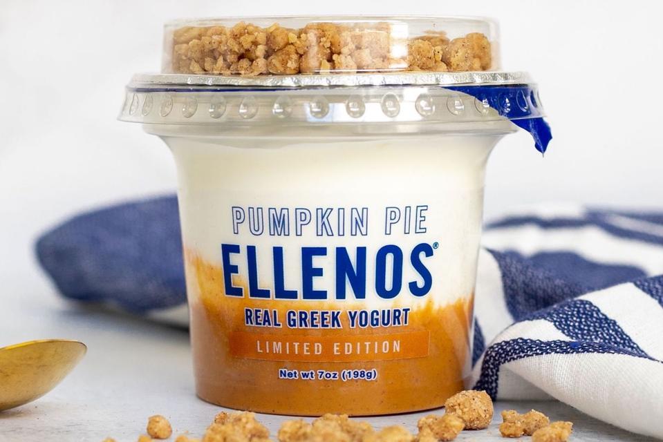 Ellenos Pumpkin Pie Real Greek Yogurt