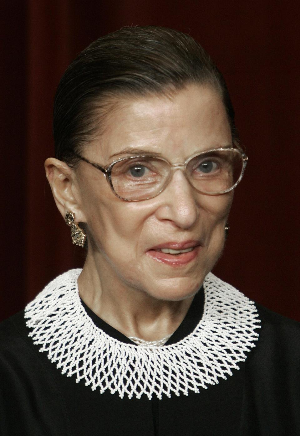 US Supreme Court Justice Ruth Bader Gins