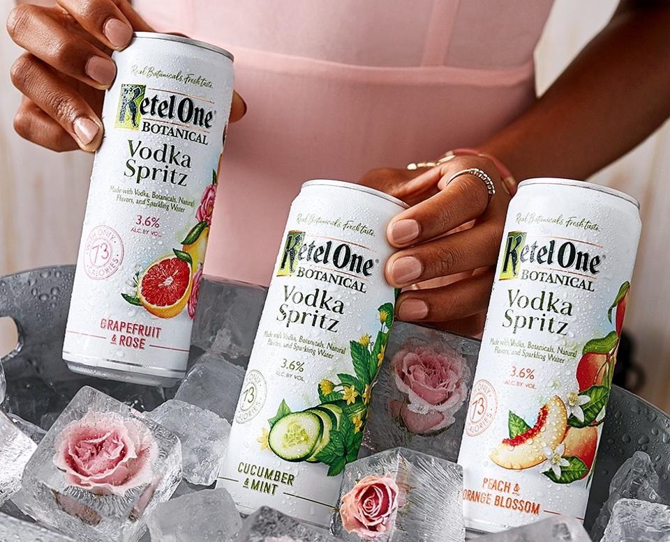 Ketel One Botanical Vodka Spritz