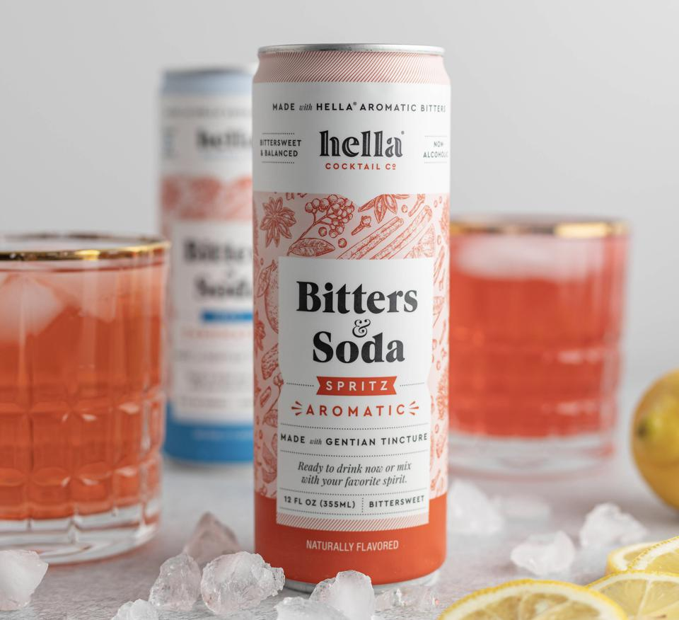 Hella Cocktail Co. Bitters & Soda spritz aromatic dry