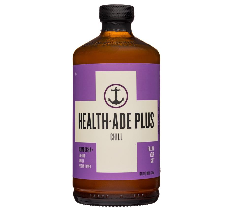 Health-Ade Plus chill kombucha adaptogens