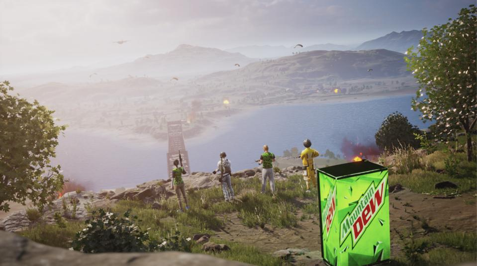 Mountain Dew ″Fuel Stations″ are coming to PUBG Mobile