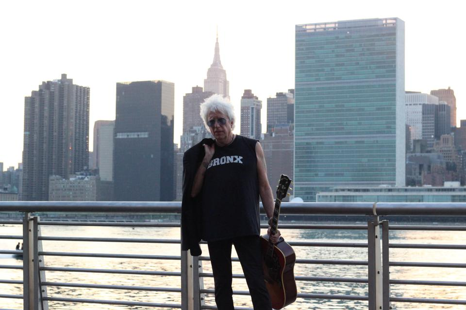Rock and Roll Hall of Famer Ricky Byrd in New York City