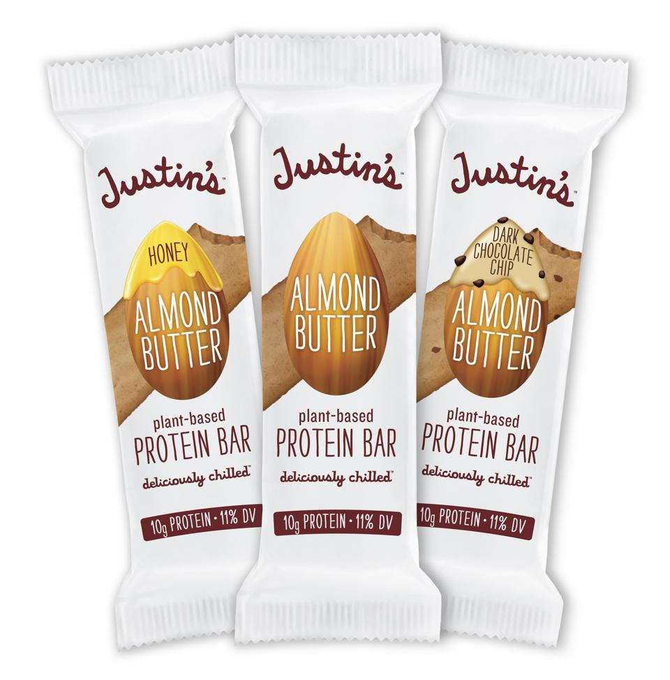 JUSTIN'S® Almond Butter Protein Bar plant-based