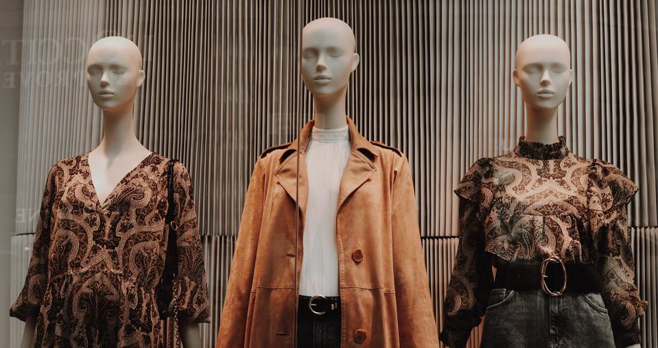 Photo of three fashion mannequins